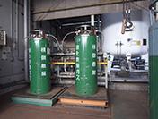液化炭酸ガス充填場