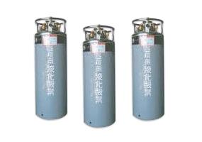 超低温液化ガス用可搬式容器